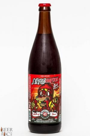 Parallel 49 Brewing Lil' Redemption Sour Cherry Ale