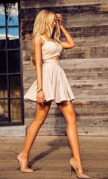 22 Romantische Outfits für ein besonderes Date Night Outing