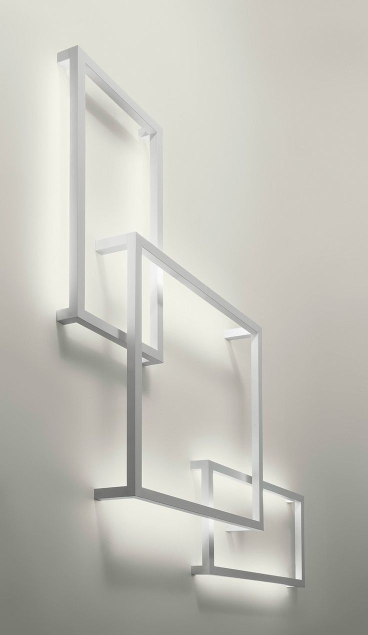 Indirect #light wall #lamp FRAMEWORK by AXO LIGHT | #design Manuel Vivian #minimal #white