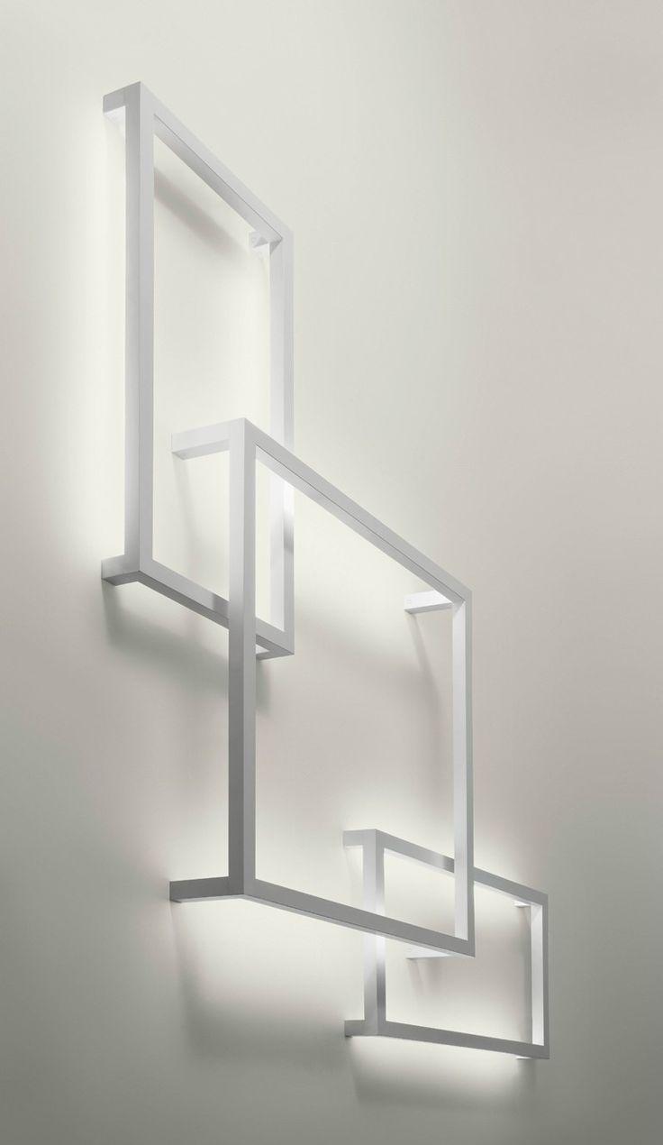 Indirect #light wall #lamp FRAMEWORK by AXO LIGHT | #design Manuel Vivian #minimal #white