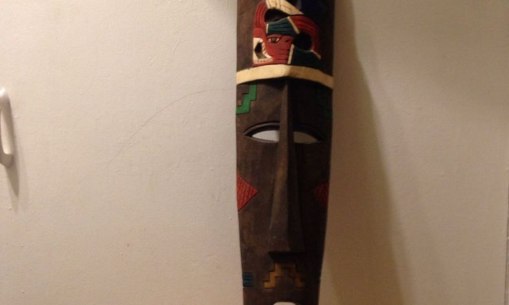 Used Large African Wooden Mask in BR3 London for £ 30.00 – Shpock
