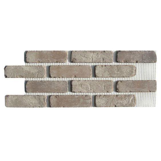 Old Mill Brick Brickwebb Rushmore Thin Brick Sheets