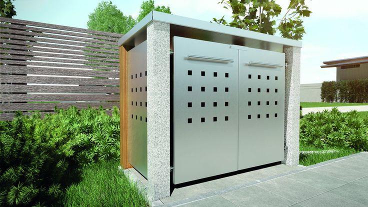 Mülltonnenbox, Mülltonnenhaus, Gerätebox   | eBay