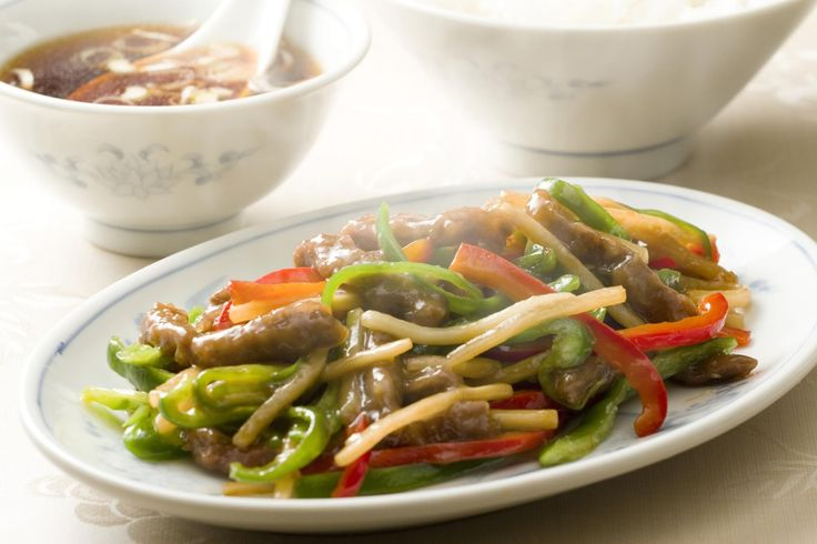 This is stir-fry beef and bamboo shoots with a flavorful oyster sauce is perfect for a busy weeknight.