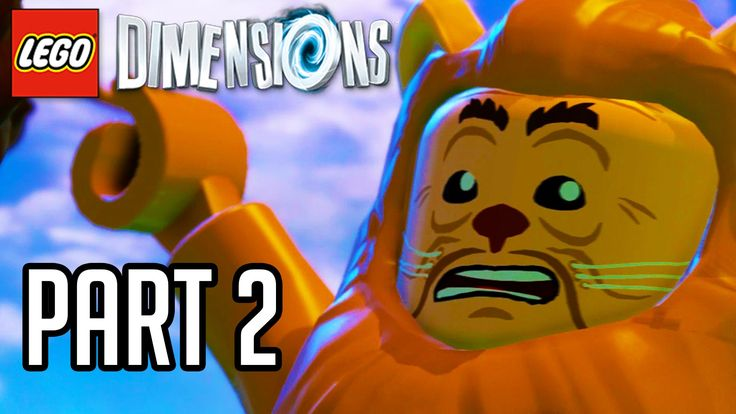 LEGO Dimensions Walkthrough Part 2 - WIZARD OF OZ!! (Gameplay PS4/XB1/Wi...