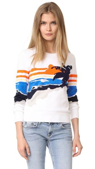 Rag & Bone Nicki Graphic Sweater