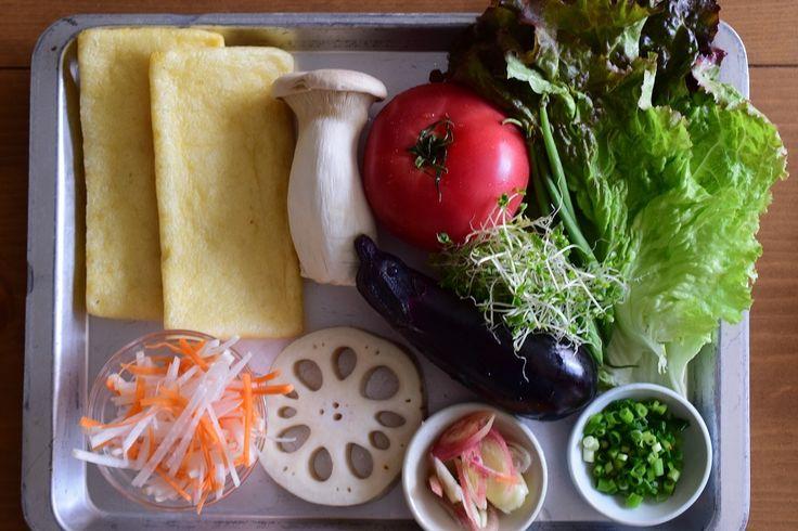 パンを使わない!?さくさくの油揚げサンドイッチ【ヴィーガン&グルテンフリー&ローカーボ】材料は油揚げと野菜のみ。
