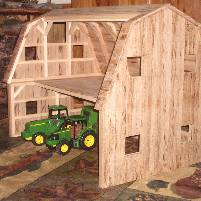 Wooden Toy Barn #2