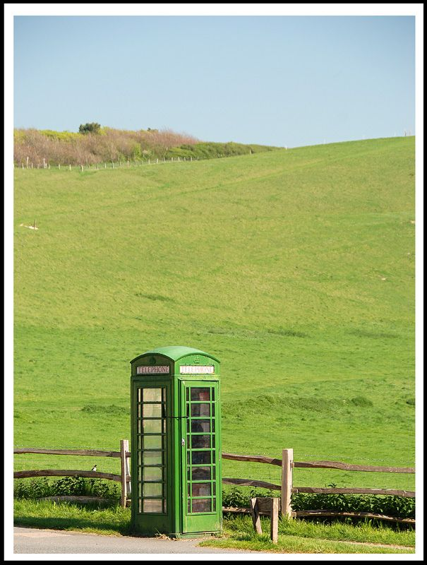 Green is the colour, Seven Sisters Country Park, West Sussex, England Copyright: Emmanuel Binot