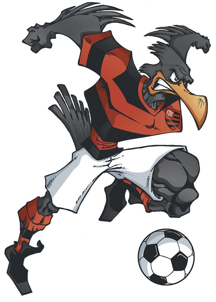 Com a vitória, o furacão conquista 33 pontos e sobe para a 7ª colocação. Mascotes de times de Futebol - Elson Souto   Mascote