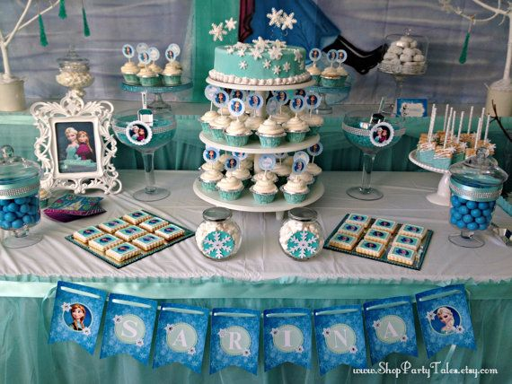 23 best FROZEN Party Ideas images on Pinterest Girl birthday