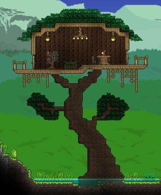 Terraria House Ideas Built By Raganzei On The Terraria Online Forums