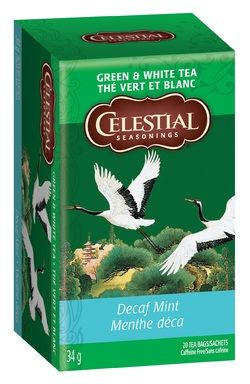 Celestial Seasonings Decaf Mint Green & White Tea $4.79 - from Well.ca