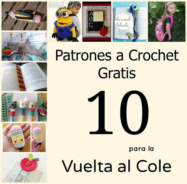 crochet back to school