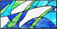 Stained Glass decoration, will enhance the style of any room.