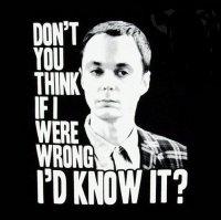 Oh, Sheldon, Sheldon, Sheldon.