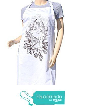 $29 FREE SHIPPING - Kitchen Apron - Brown Craft Beer Apron - Barbeque Apron - Cooking Apron - Full Aprons from Heaps Handworks  #handmadeatamazon  #apron #aprons #kitchenaprons #kitchenapron #bbqapron #bbqaprons #cooksapron #cooksaprons #cooks #chef #baking #craftbeer #craftbeers
