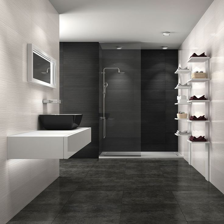 Powder 70x25 Wave Tiles | Walls and Floors