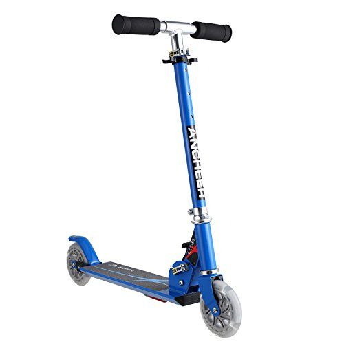 """The Ancheer Scooter is the best choice for children aged 4-8. Your child will love """"surfing the sidewalk"""" on their mini aluminium alloy scooter, and you will love the years of fun and exercise it provides. The mini scooter is one of the best value present you will buy your child. The... more details available at https://perfect-gifts.bestselleroutlets.com/gifts-for-teens/skates-skateboards-scooters/product-review-for-ancheer-kids-scooter-foldable-portable-adjustable"""