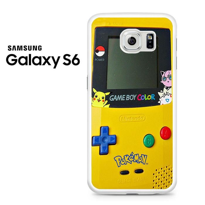 Gameboy Color Pokemon Samsung Galaxy S6 Case