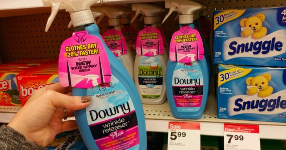 Print this new Downy coupon and snag a sweet deal at Target!