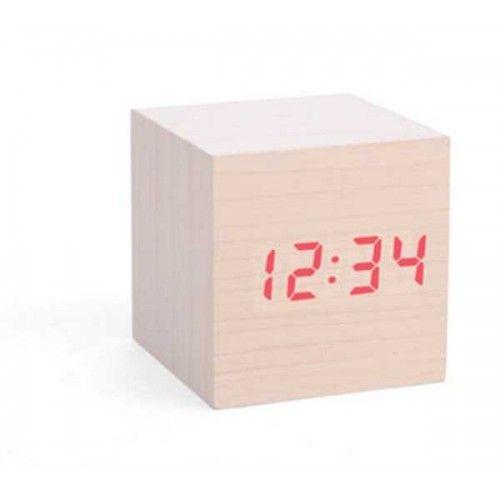 Clap-On Alarm Cube Clock