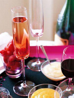 【ELLE a table】気ままなフルーツシャンパンレシピ|エル・オンライン