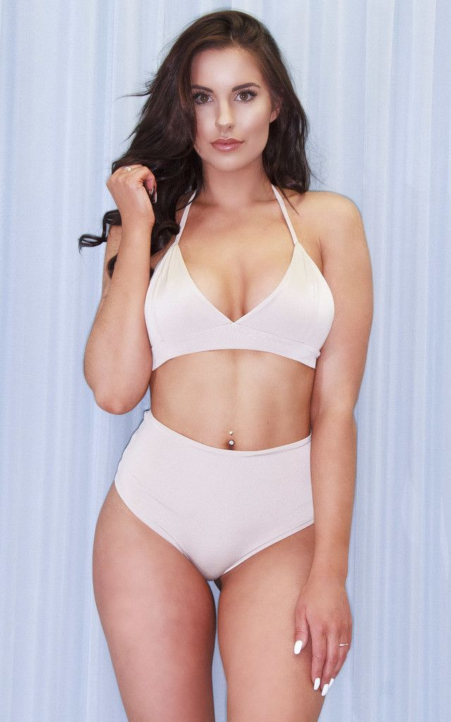 Our South Beach co ords can be mixed and matched to create a custom Bikini perfect for your body shape. Our classic bralet shape gives additional support to a fuller bust and creates shape on an athletic figure.
