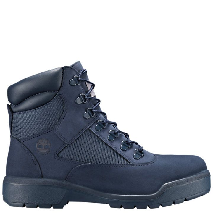 Timberland Field Boots Red And Blue in