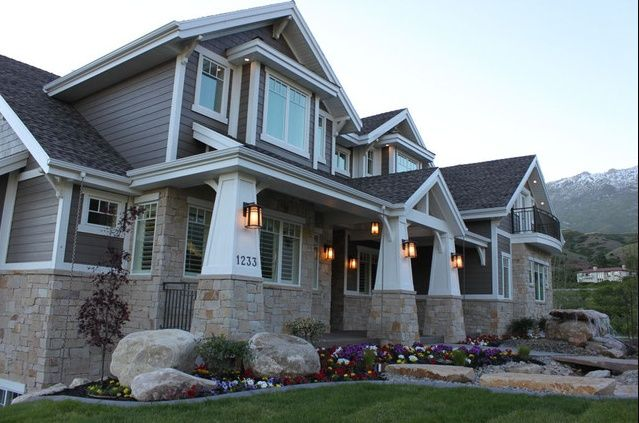 25+ Best Craftsman Style Exterior Ideas On Pinterest