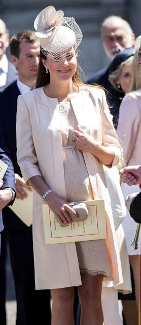 Kate Middleton: From Berkshire to Buckingham: Kate is Flawless in Custom Jenny Packham at the Coronation Ceremony