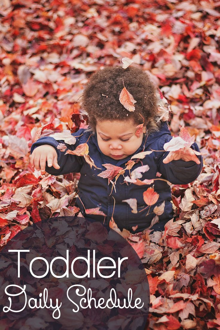 Daily Toddler Schedule for 1 yr old