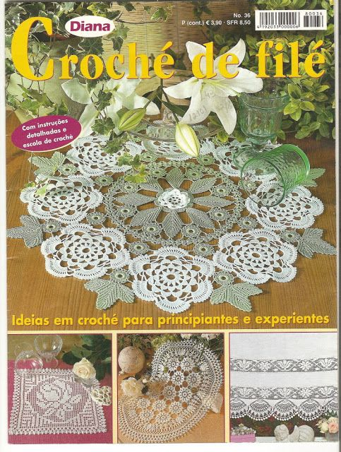 Croché de Filé - Natalina - Picasa Web Albums