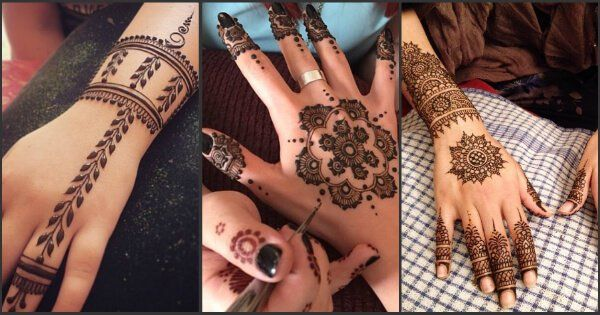 30+ Minimalist Mehendi Designs for the Bride Who Thinks Less Is More #minimal