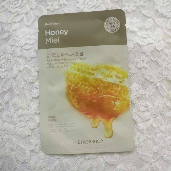 Among the sheets that I picked up, one was the The Face Shop Honey Face Mask . I had heard so much about Korean skincare, so I was really looking forward to trying this particular brand. #faceshop #mask #sheetmask #honey #skincare #kbeautyThe Face Shop Honey Face Mask Review https://www.glossypolish.com/the-face-shop-honey-face-mask-review/
