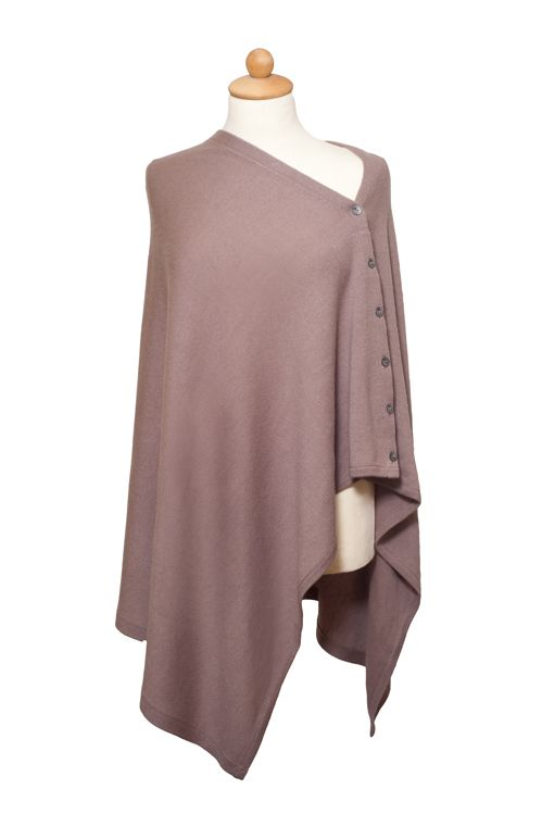 Cappuccino cashmere poncho £155 www.thenordicangel.co.uk