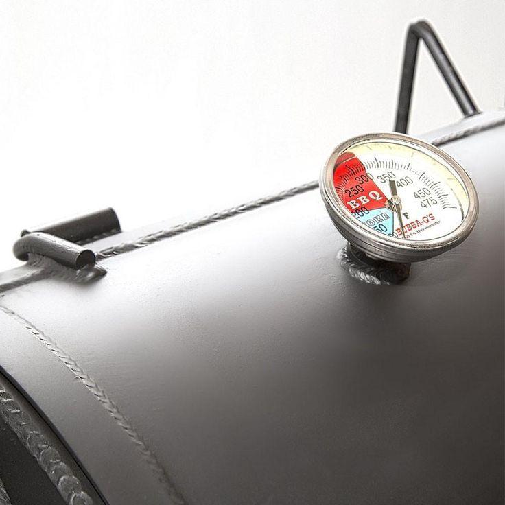 Portable Luling Smoker - Trailer Mounted