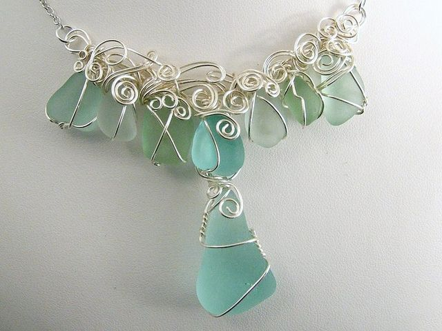 266 best Sea Glass Jewelry Ideas images on Pinterest Pendants Sea