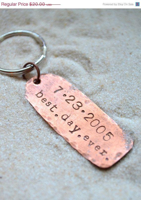 SALE Black Friday Sale Anniversary Keychain  by SailorStudio