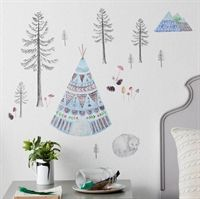 Wallsticker fra Love Mae - Sleeping Fox