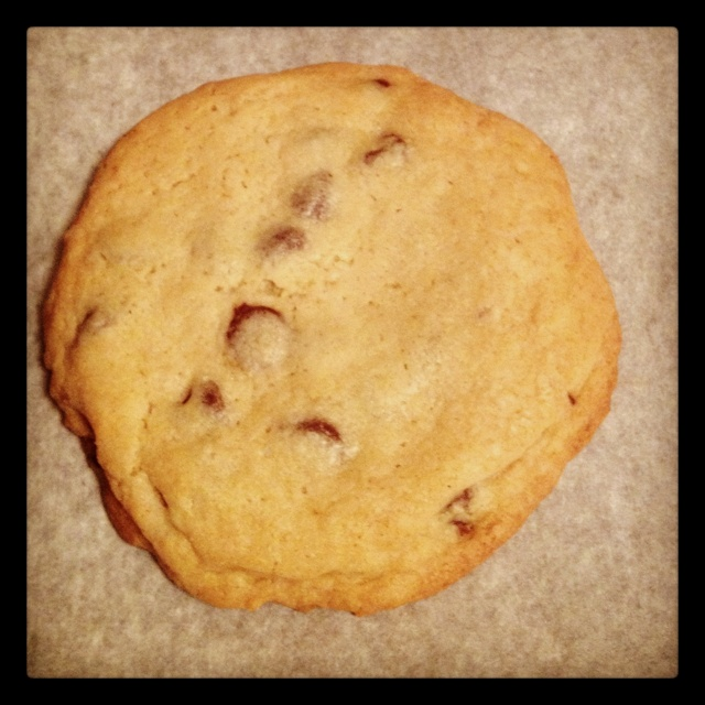 Bakery Style XXL Chocolate Chip Cookies. Turned out really well. Used ...