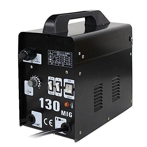 Zeny MIG-130 Gas-Less Flux Core Wire Welder Welding Machine MIG 130 60 AMP Autom #Zeny