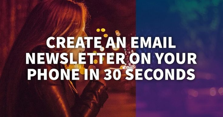 The right way to Create an Electronic mail Publication on Your Telephone in 30 Seconds