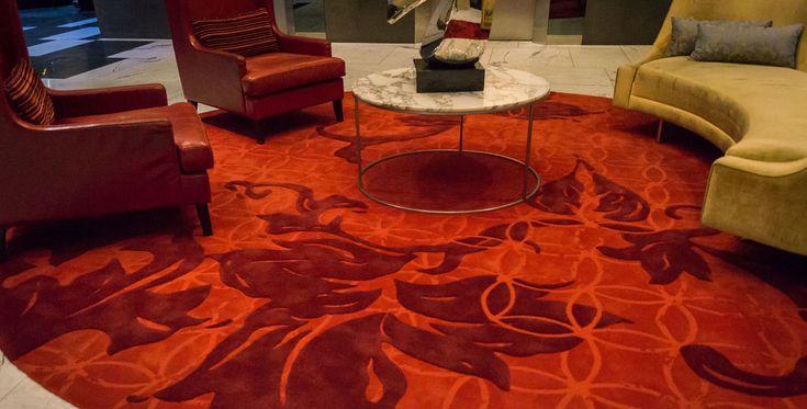 Intercontinental Melbourne, the Rialto Tai Ping Carpets #hotelcarpet