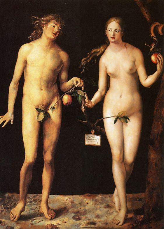 Музей Прадо. Обсуждение на LiveInternet - Российский Сервис Онлайн-Дневников.  Adam and Eve.Albrecht Dürer.1507 г.