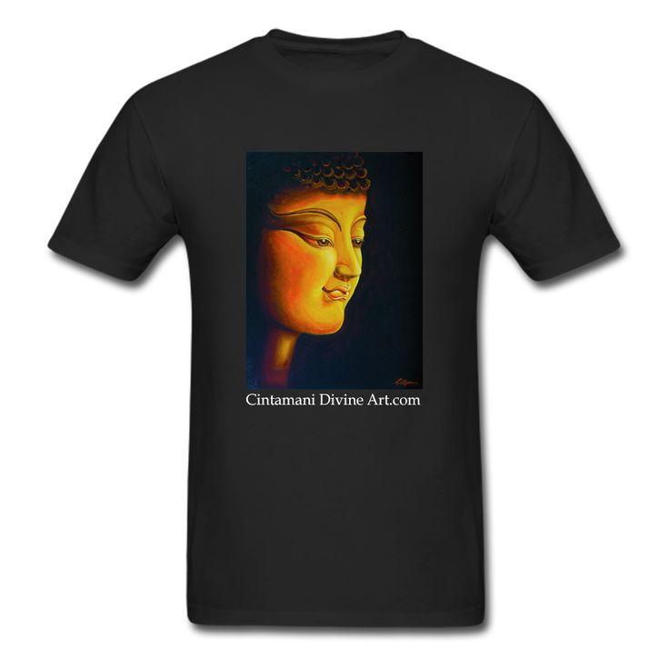 Lord Buddha T-Shirt - Cintamani Divine Art- https://cintamanidivineart.com/product/lord-buddha-t-shirt/