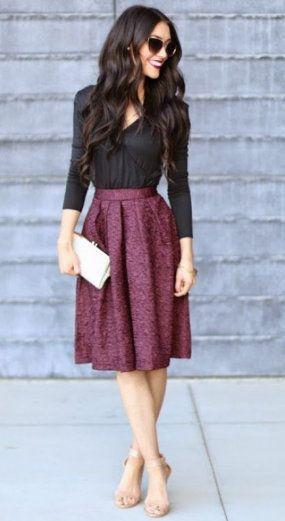 Midiröcke stylen: So kombiniert man die angesagten Röcke 2019 2
