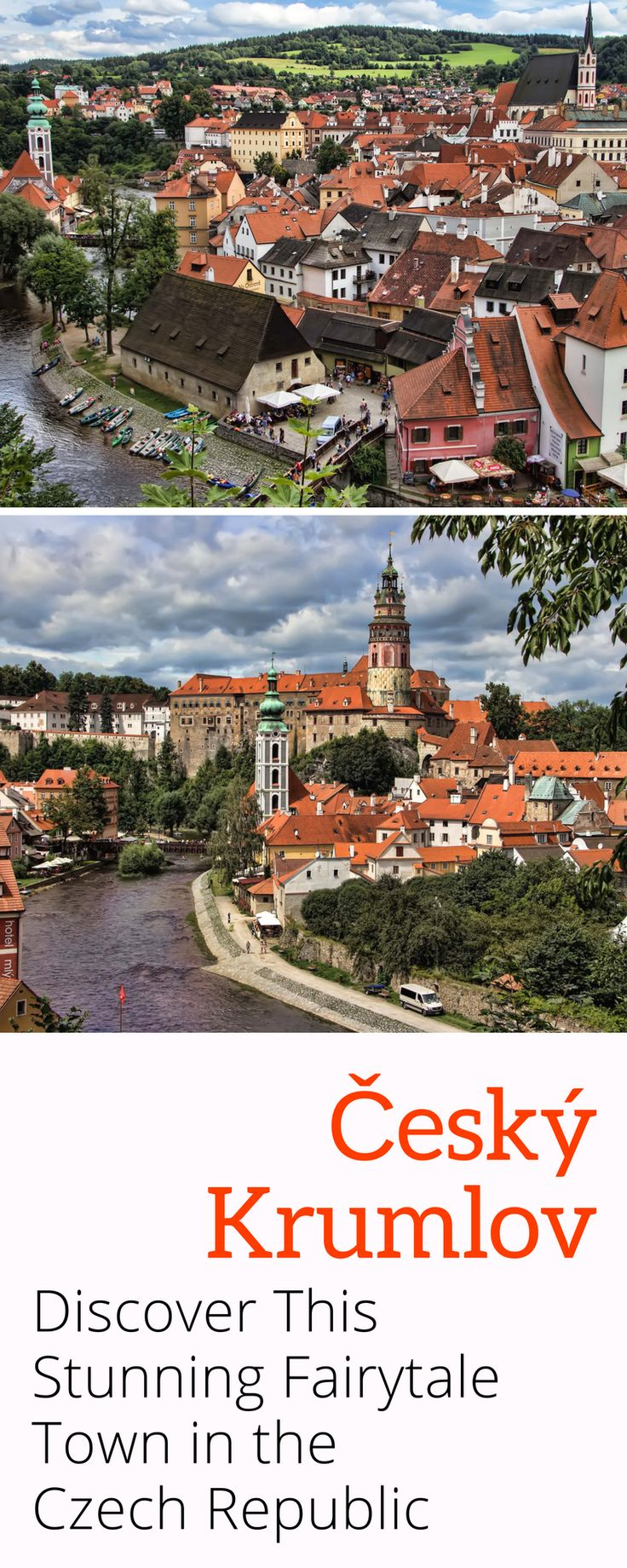 Cesky Krumlov in the is a stunning fairytale town in the Czech Republic just a few hours from Prague. A stroll through the picturesque historical centre will, thanks to its inimitable medieval character, leave you speechless. Click here for more details!