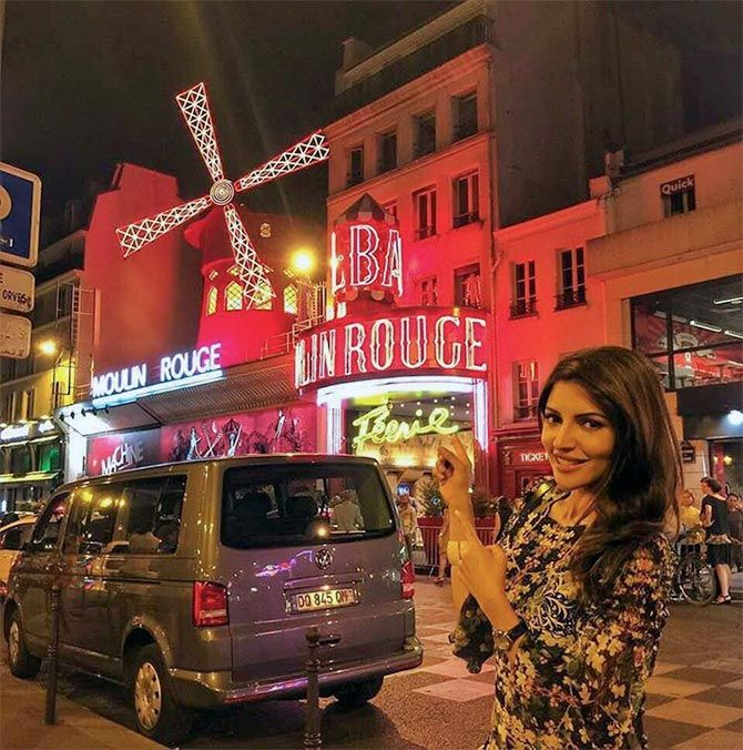 PIX: Shama Sikander's EXOTIC holiday in France, Venice, Italy... - Rediff.com movies