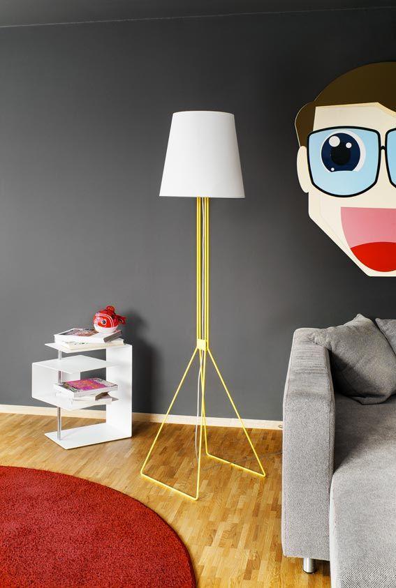 Il brand #tedesco #frauMaier, specializzato nella produzione di #lampade originali e colorate, da terra e da parete